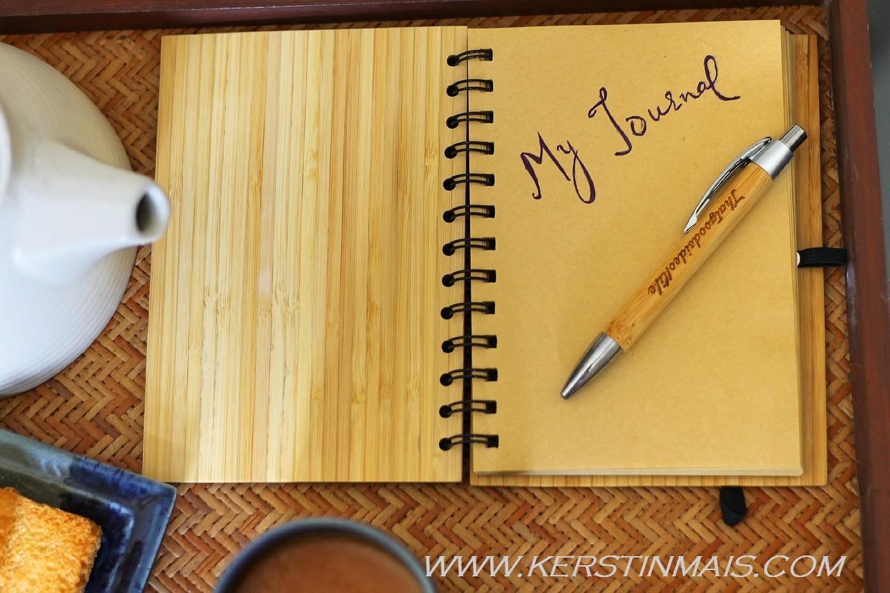 In 6 Minuten glücklicher mit Journaling
