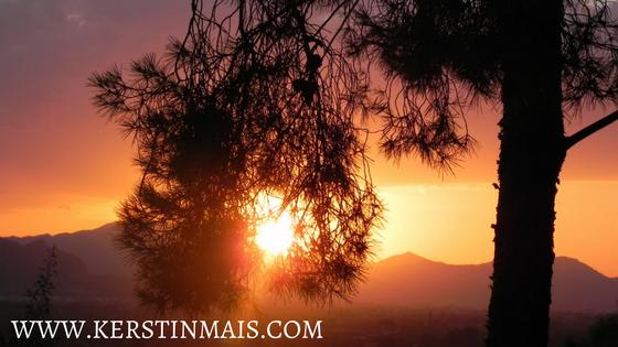 Sonnenuntergang in Denia - Kerstin Mais