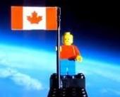 画像:宇宙にいったレゴ(※CGではありません!)
