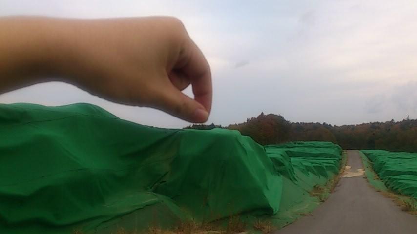汚染土というより、原発事故の問題をツママなければなりません!