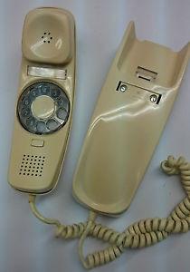 TELEFONO CREMA CITESA DE DISCO TIPO GONDOLA.