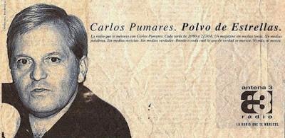 EL GRAN CARLOS PUMARES Y SU PROGRAMA DE CINE