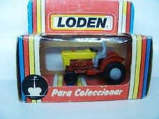 TRACTOR DE LODEN