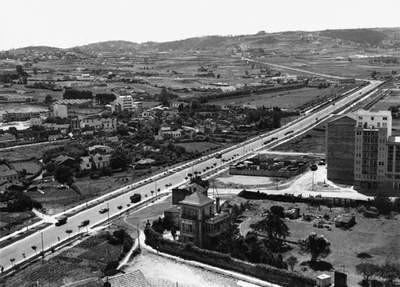 AVENIDA DE ALFONSO MOLINA AÑO 1.957