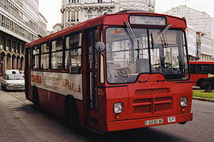 AUTOBUS PEGASO UNICAR DE 1.985 C-AC,EL 214.