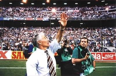 EL RETORNO TRIUNFAL DE ARSENIO IGLESIAS CAMBIARIA LA HISTORIA DEL DEPORTIVO PARA HACERLO UN GRANDE DEL FUTBOL ESPAÑOL.