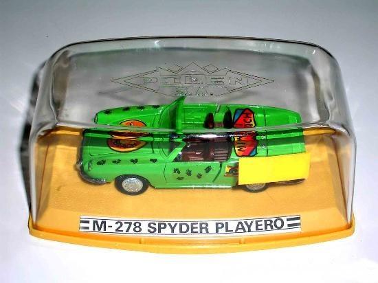 SEAT 850 SPYDER PLAYERO DE PILEN
