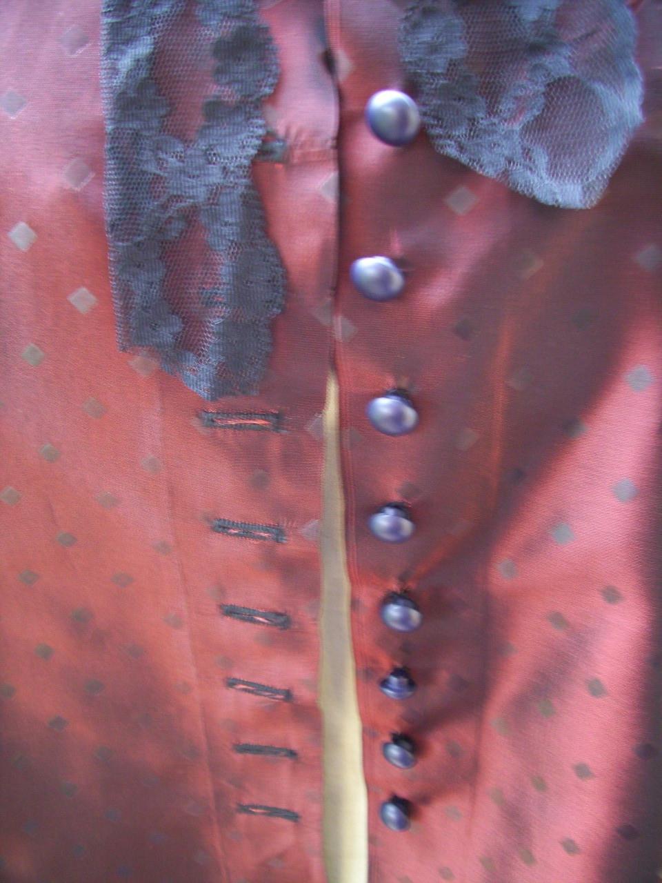 Bouton devant veste