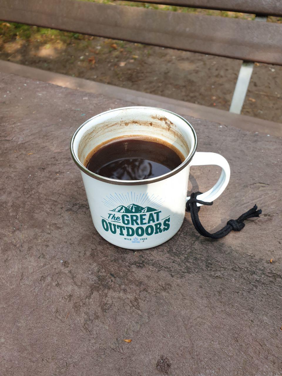 Und der Kaffee konnte den müdesten Käptn wach halten