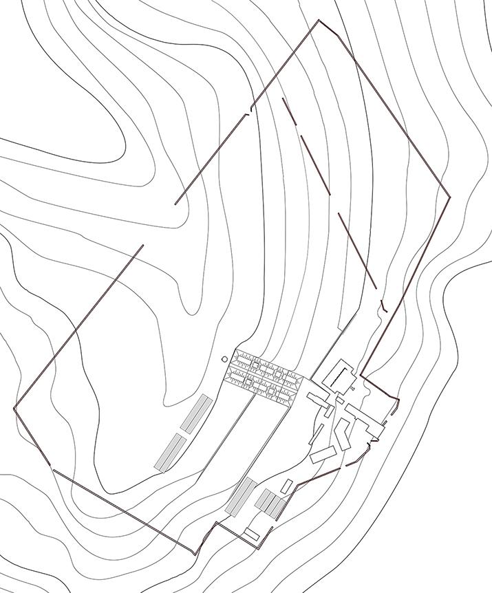 Plan topographique du projet