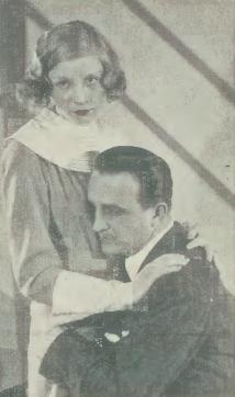 Jadwiga Andrzejewska i Tadeusz Wesołowski w sztuce Szkoła geniuszów T.Letni Warszawa (1933)