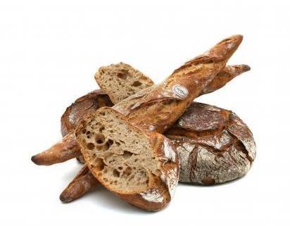 Les pains à la farine de meule