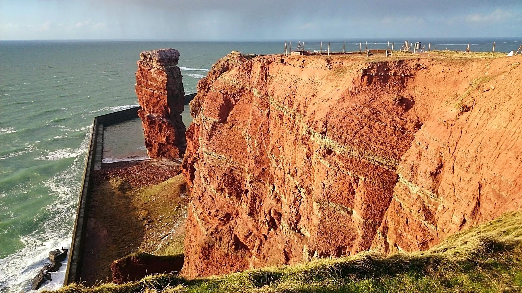 Die Lange Anna, das Wahrzeichen der Insel Helgoland