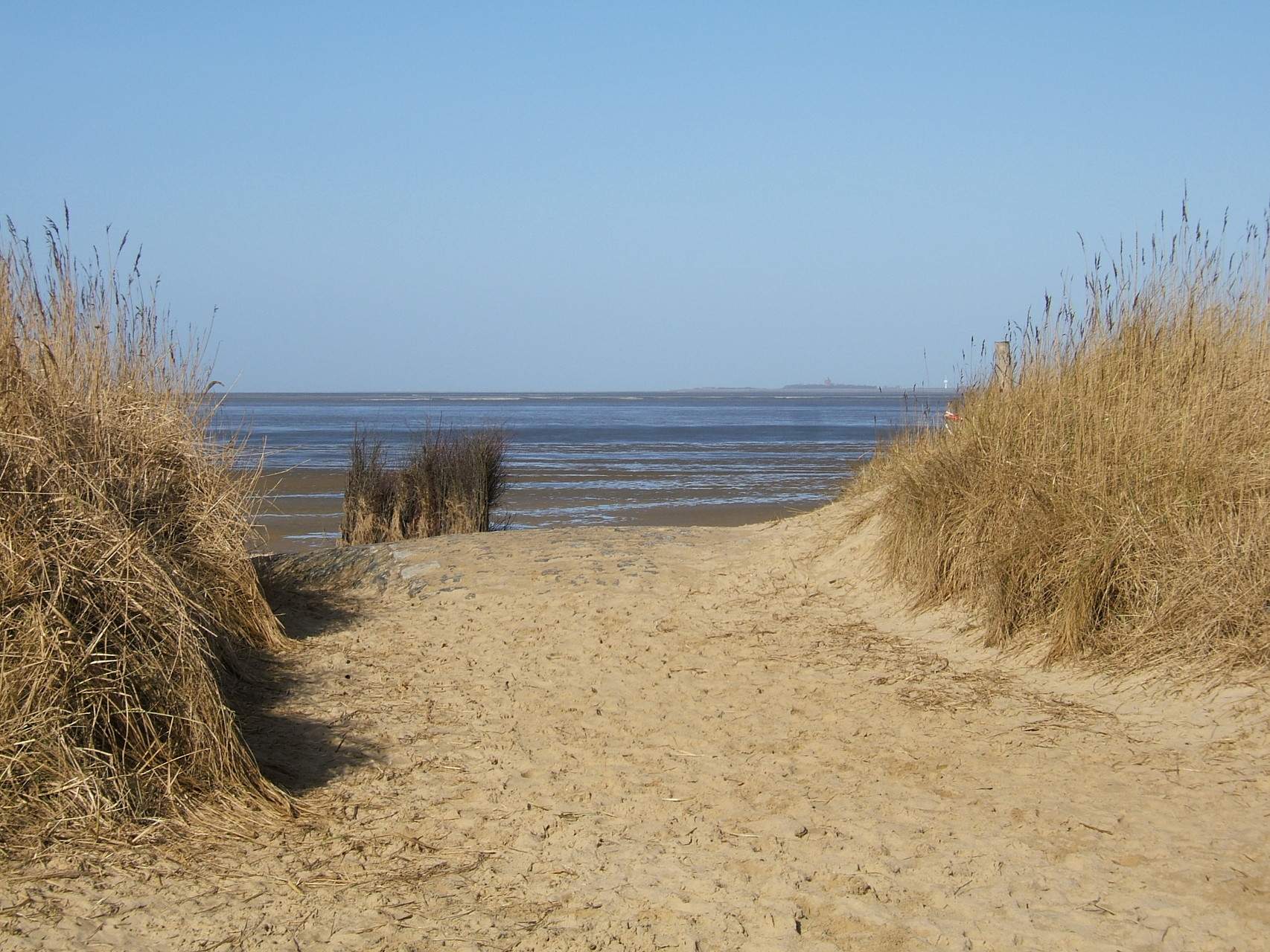 Hundestrand in Sahlenburg