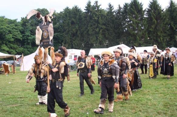 Dann marschierte die I. Hornpötter Hunnenhorde in die Schlacht zu Vaals