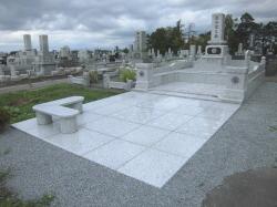 10坪の大型墓所完成