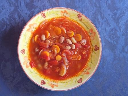 Rezept griechische Bohnensuppe