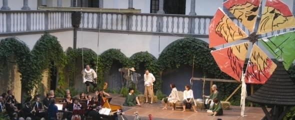 """Opernproduktion 2003 """"Don Quichotte auf der Hochzeit des Comacho"""" © Weissenbrunner"""