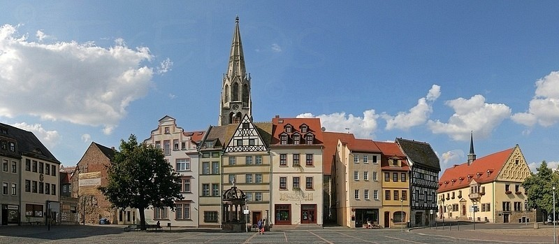 Merseburg, Marktplatz