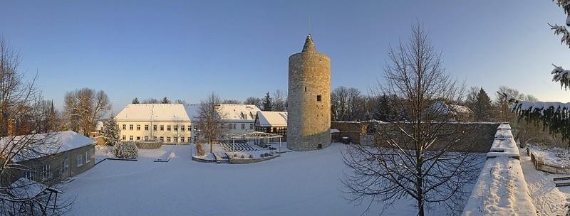 Osterfeld, Burghof