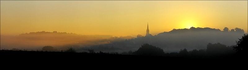 Osterfeld, Sonnenaufgang