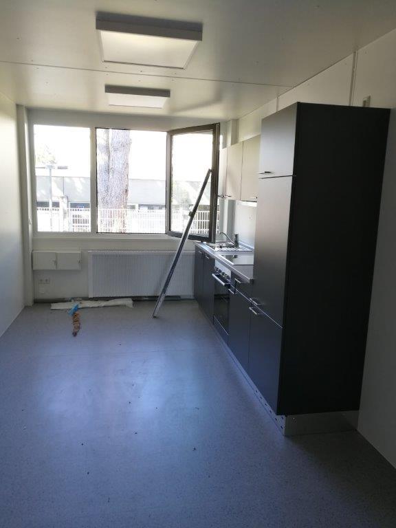 Küche und Personalraum