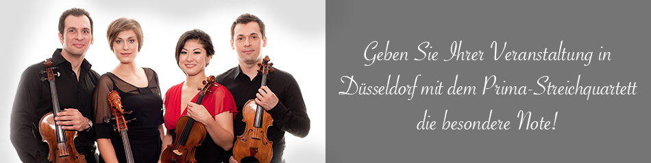 Streichquartett-in-Düsseldorf. Musiker-für-Ihr-Event.