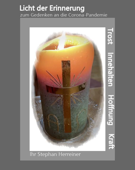 2021 Licht der Erinnerung - Gedenken der Opfer der Corona-Pandemie