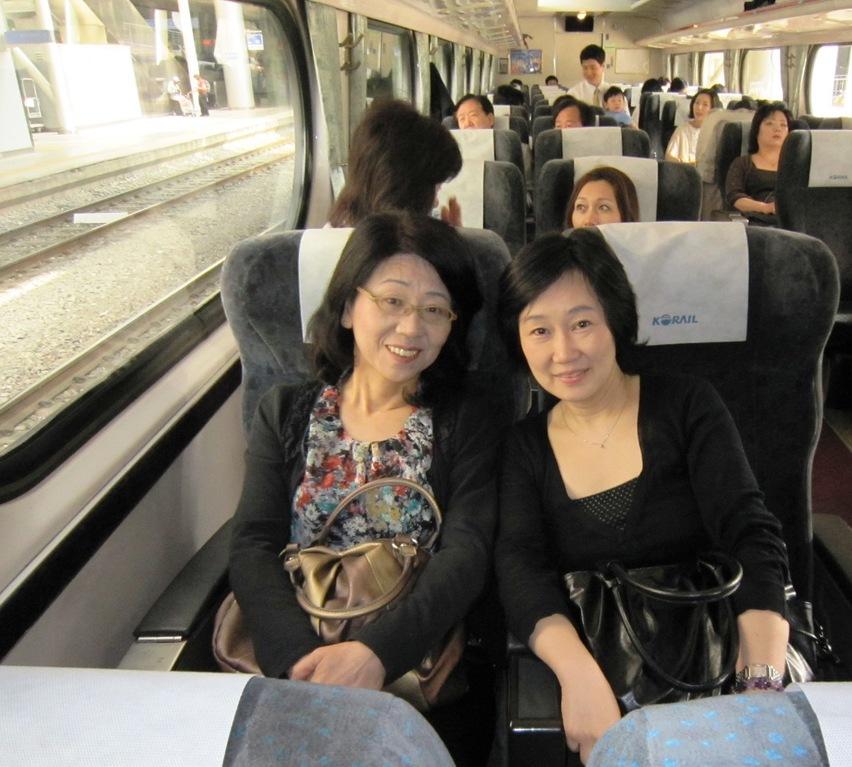 韓国旅行(セマウル号列車)