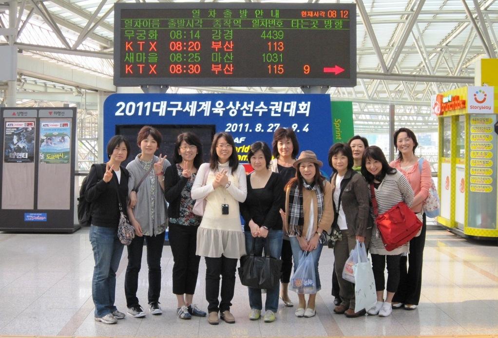 韓国旅行(ソウル駅)