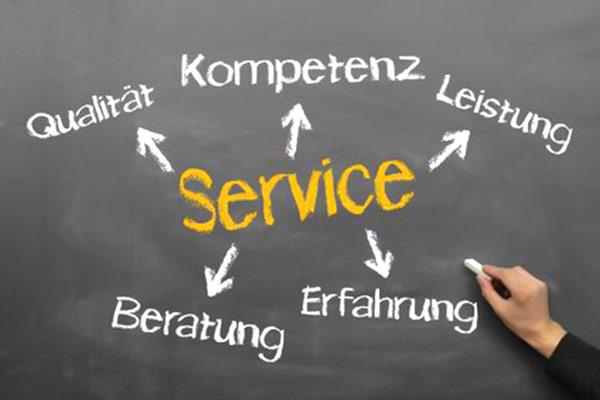 Qualität, Service, Kompetenz, Leistung...