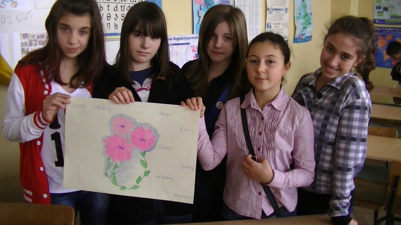 Gergana , Borislava, Borijana , Maria and Yoanna's work!