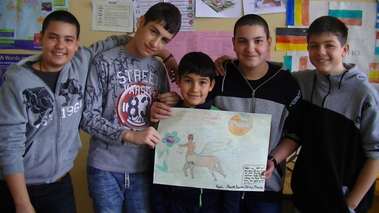 Petar, Vasil, Zaprjan, Nikola and Kristijan's work!