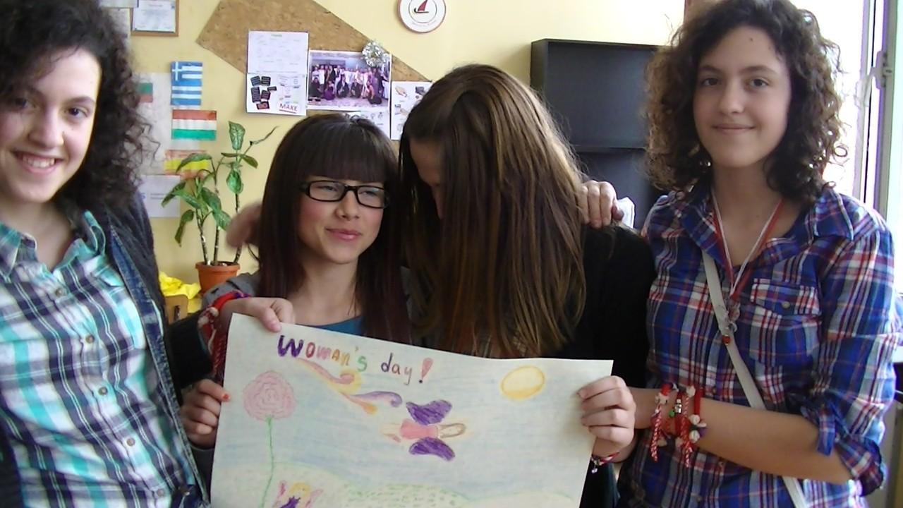 Daniela, Gabriela, Sijana and Nija's work!
