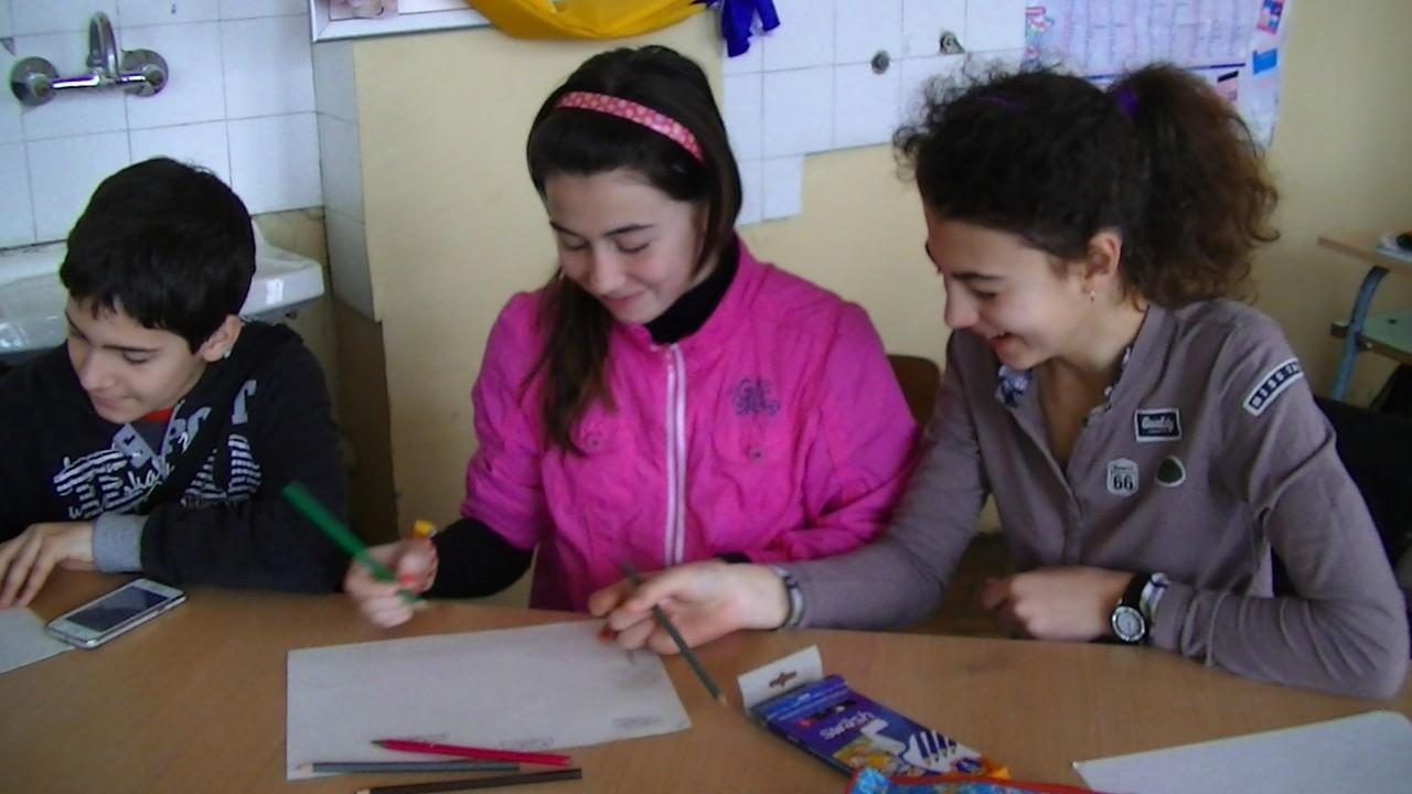 Iva,Gabi and Kristijan