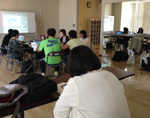PSE勉強会風景・・・・・2015.5.8