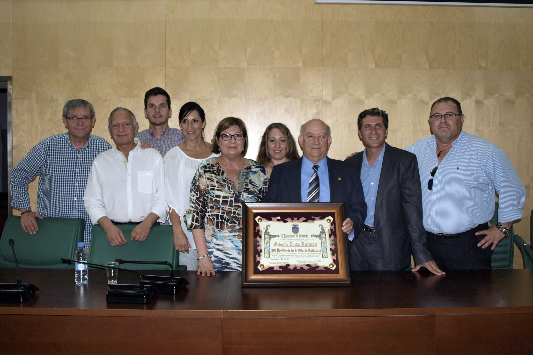 Con la corporación Municipal (12 de Junio 2015)