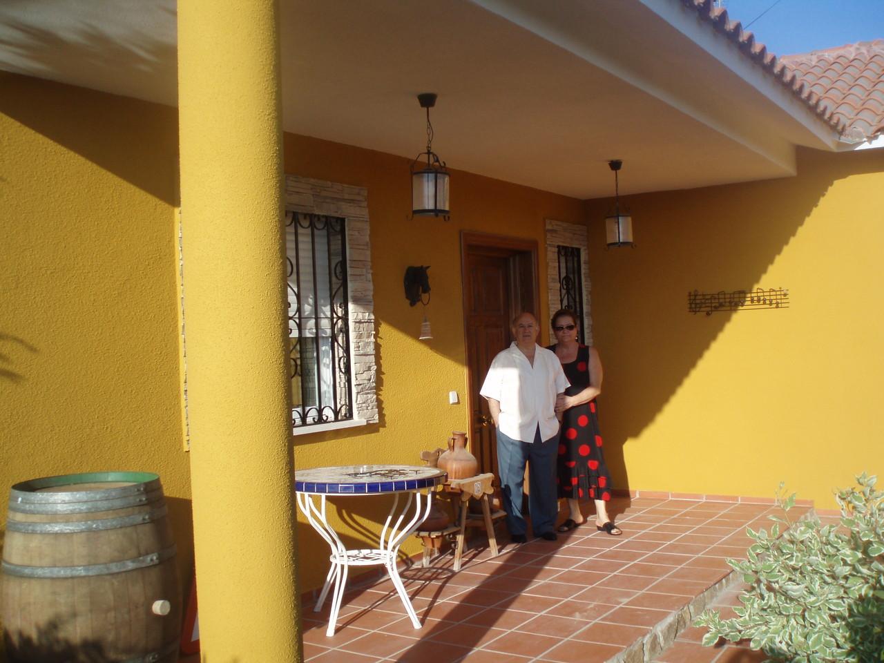 Cerca de Aranjuez, en casa de su hijo Ernesto