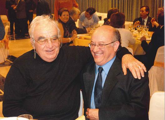 Con Maurice André, coincidiéndo con el Maestro como profesores del Curso Internacional de Benidorm