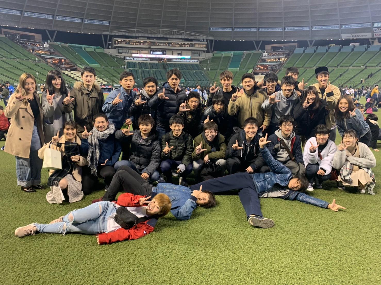 新歓(野球観戦2018)