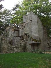 Les ruines du manoir