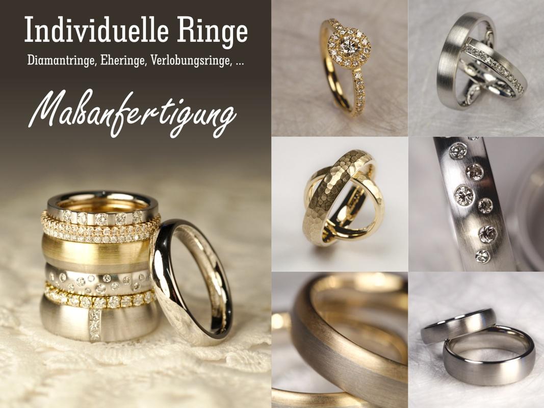 Individuelle Ringe zu günstigen Preisen