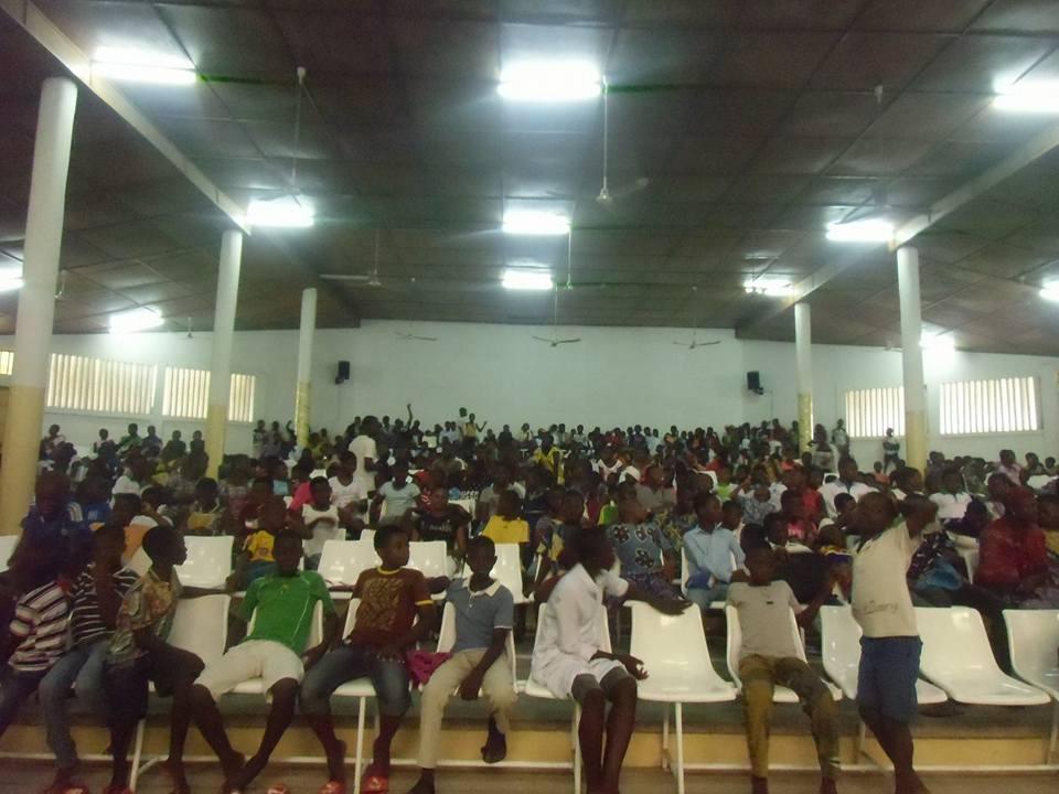 Diffusion Festimaj centre culturel Atakpamé - Togo