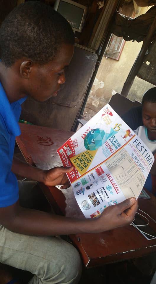 Préparation Festimaj   en Guinée Conakry