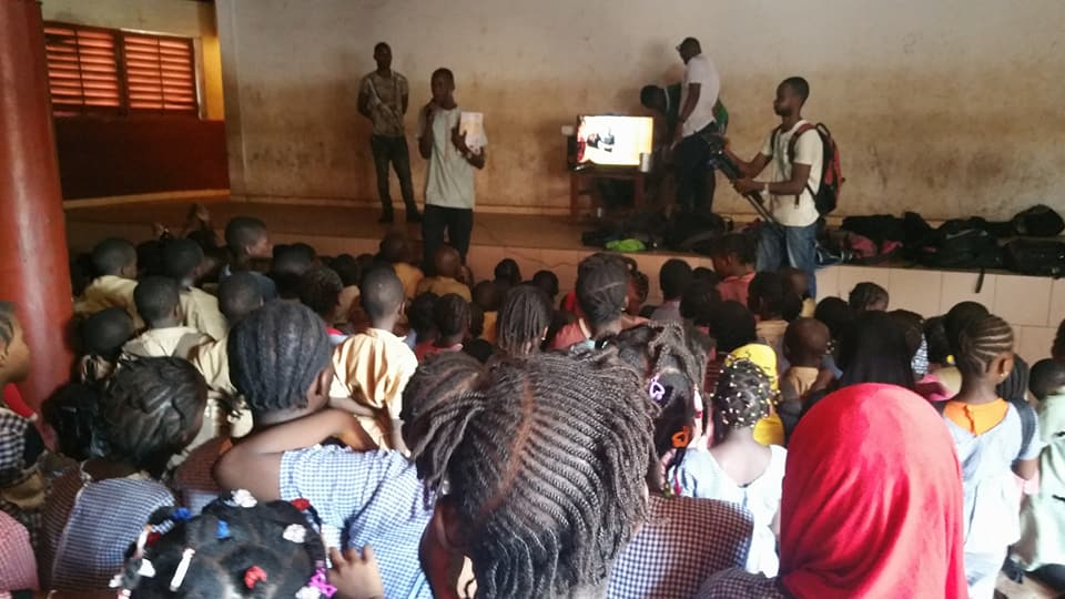 Projection en Guinée Conakry