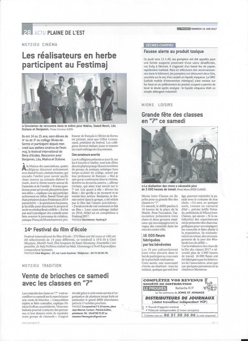 Le Progrès Festimaj - Meyzieu