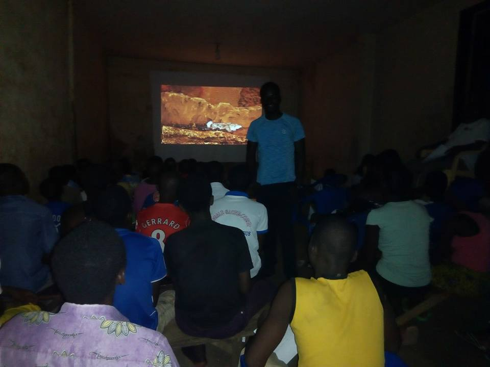 Projection au Togo