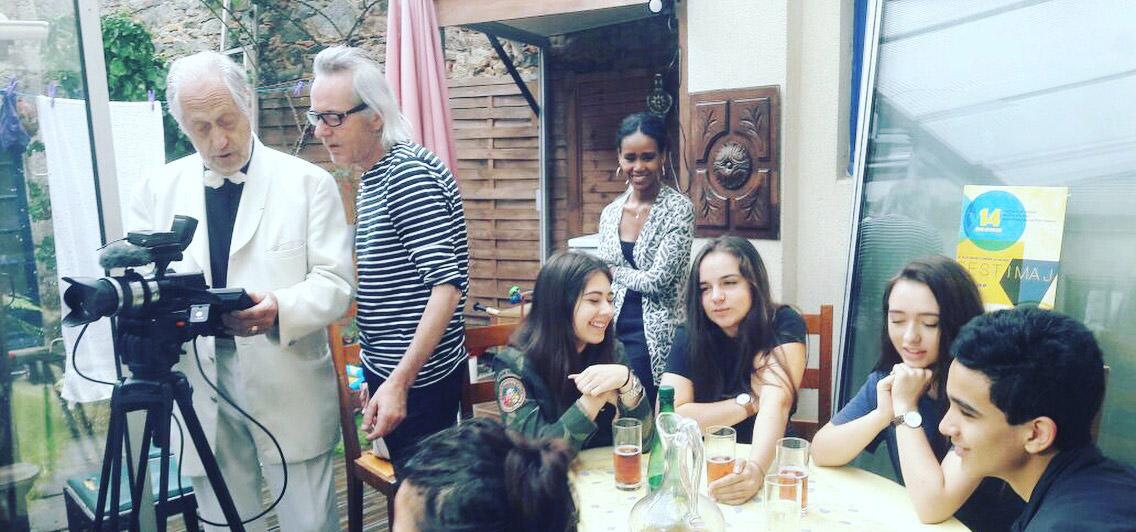 Tournage atelier Festimaj La Flocellière - Sèvremont