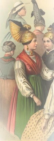 Bild: Ausschnitt aus Wikimedia Commons -https://commons.wikimedia.org/wiki/File:Albert_Kretschmer_-_070_-_Oberösterreich,_Salzkammergut.jpg;