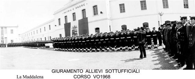 GIURAMENTO CORSO FURIERI 1968